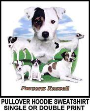 Very Cool Parsons Russell Terrier Dog Art Pullover Hoodie Sweatshirt 717