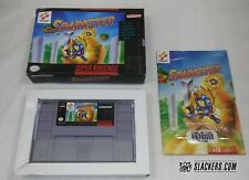 SPARKSTER (Super Nintendo Entertainment) COMPLETE IN BOX!! SNES Tested!!