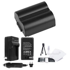 CGR-S006e Battery + Charger + BONUS for Panasonic Lumix DMC-FZ18 FZ28 FZ30 FZ35