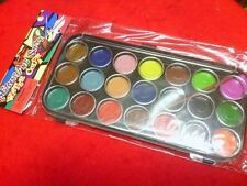 NEW 21  WATER COLOUR PAINT SET GREAT FOR KIDS