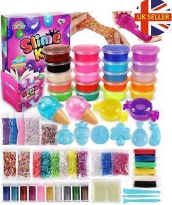 Sago Brothers Slime Kit Making Slimes kits Girls Boys Kids Children Gift Sensory
