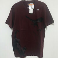 UNIQLO Haikyuu!! Karasuno Manga UT MEN'S Graphic T-Shirt Wine Red S-XL Japan F/S