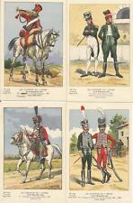 Cdt BUCQUOY - UNIFORMES 1er EMPIRE - Série 182 - le 8° HUSSARDS -fin