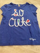 Girls Tommy Hilfiger T-shirt Age 4T