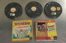 Vintage Walt Disney 8mm Film  Movies-Mary Poppins, Snow White, Mickey, Dumbo