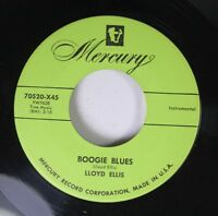Hear! Country Bopper 45 Lloyd Ellis - Boogie Blues / Blue Champagne On Mercury