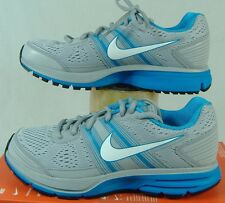 New Womens 5 NIKE Air Pegasus 29 Gray Blue Running Shoes $100 526629-014