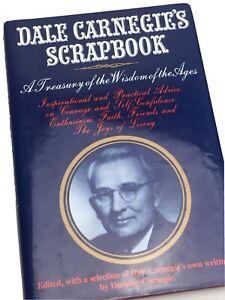 Dale Carnegie's Scrapbook Dorothy Carnegie (1959, 1st Edition, Hardcover) Bio
