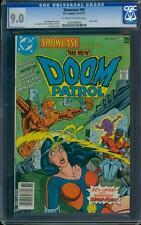 Showcase 95 CGC 9.0 OW/W Bronze Age Key DC Comic Doom Patrol L@@K IGKC