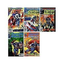 Marvel Comics Captain America Vol 3 No 1 - 5 Heroes Return Modern Age