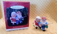 1997 Hallmark The Clauses on Vacation Christmas Ornament 1st in Series! W/Box