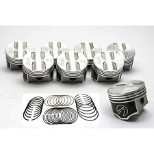 Speed Pro/TRW Chevy 327 Forged Flat Top Coated Pistons+MOLY Rings Set/Kit +.030""