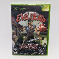 Evil Dead: A Fistful of Boomstick - Xbox Original (Brand New Sealed) THQ 2003
