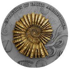 Niue Island 2018 2$ Evolution of Earth - AMMONOIDEA 2oz Silver Coin