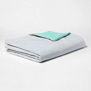 Pillowfort Kids Waterproof Weighted Blanket Gray 40x60 6 lbs