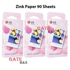 LG Pocket Photo PoPo Zink Photo paper (90 sheets) for PD221 PD251 PD269