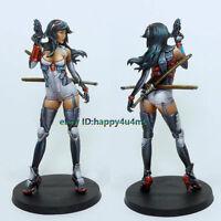 1/24 Scale 75MM Fantasy Female warrior Garage Kits Resin Unpainted Figure Model
