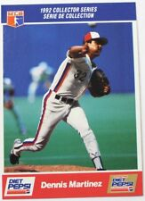 1992 Dennis Martinez Diet Pepsi Collector's Series Card # 4 of 30