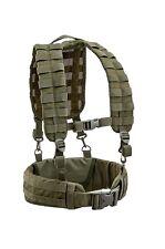 Gilet tattico softair/militari load harness bearing belt Defcon5 OD.