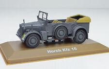 Horch Kfz 15 Année de construction 1942 gris échelle 1:43 de Atlas
