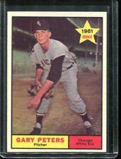 1961   Topps   Baseball    # 303   Gary Peters   NM   Near Mint