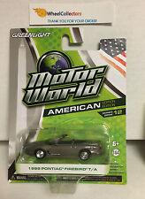 Greenlight * 1999 Pontiac Firebird T/A * Grey * Motor World * A25