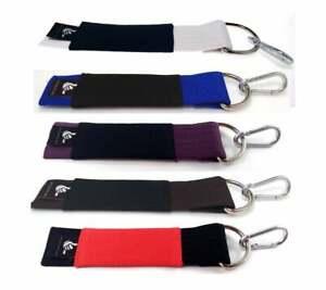 BJJ Belt Keychain like real Gi Belt BJJ Gifts All Ranked Colors