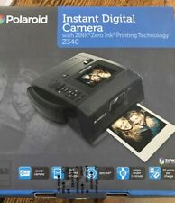 Polaroid Instan5 Z340 14 MP Digital Camera - Black-EXCELLENT condition!