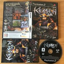 Kessen PS2 PlayStation 2 PAL Game - Complete Koei Action