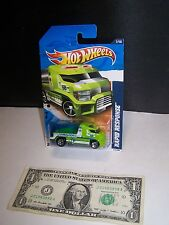 Hot Wheels - Pink Combat Medic Speedy Delivery Step Van - City Works - 2011