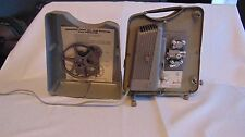 Keystone K75 K 75 8 mm Movie Projector with Take Up Reel and Cover