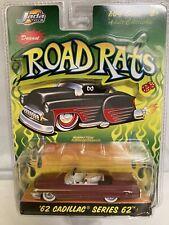 1962 Cadillac Series 62 Convertible Prime Jada Toys 1/64 Scale Road Rats Series