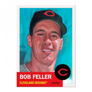 2020 Topps MLB Living Set #381 - Bob Feller - Cleveland Indians (PRE-SALE)