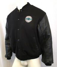 HOLLYWOOD INK AUTHENTIC CREW AUTOMOTIVE TESTING MEN'S JACKET SIZE SMALL BLACK