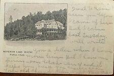 ADIRONDACK RPPC Seventh Lake House Fulton Chain, Adirondack Mountains