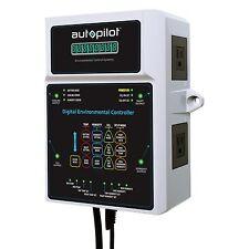 AutoPilot Digital Garden Temp Co2 Environmental Controller w/ Sensor   APCETHD