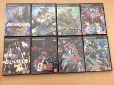 PS2  Lot of 8 Kidou Senshi Gundam import Japan Very Good
