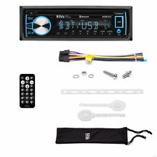 Boss Audio Systems 750BRGB Single DIN Bluetooth CD Player & Radio Car Stereo