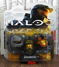 Mcfarlane Toys HALO 3 CASQUE Pack (Rouge   Master Chief   CQB) Neuf dans sa boîte