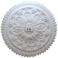 R15 Large Ceiling Rose in Fibrous Plaster - 800mm - COLLECTION ONLY