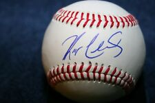 KODY CLEMENS AUTOGRAPHED SIGNED BASEBALL DETROIT TIGERS WEST MICHIGAN ROGER
