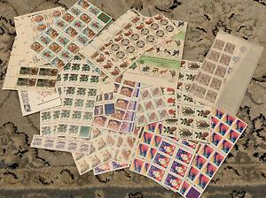 Unused US postage Stamps Over $130 FV