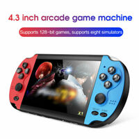 Handheld PSP Game Console Player Built-in 10,000 Games 4.3'' Portable Console hm