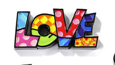 ROMERO BRITTO MINIATURE TABLE DECOR: LOVE    ** NEW **