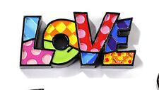 ROMERO BRITTO MINIATURE MINI TABLE DECOR: LOVE    ** NEW **