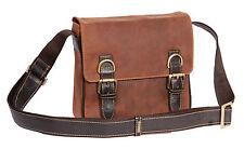 NEW Messenger Leather Shoulder Bag Man Women Vintage Tan Crossbody Casual BAG