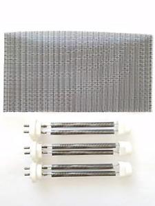 Set of 3 Double Life Bulbs/Heating Elements (1500 Watt) for EdenPURE GEN4 & U...