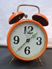 VINTAGE MAUTHE ALARM CLOCK MADE IN GERMANY FOR REPAIR OR DECOR