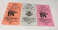 UNIVERSITY OF MARYLAND Ticket Stub Lot of 3 Byrd Stadium '99,'00,'02 NC STATE