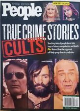 People Special Edition True Crime Stories Cults Charles Manson FREE SHIPPING CB